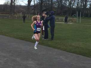 Cera Gemmell in action at the Road Race