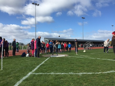 Fun athletics activities