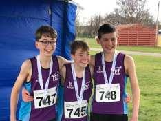 TEL Boys' U13 Team Road Race Winners