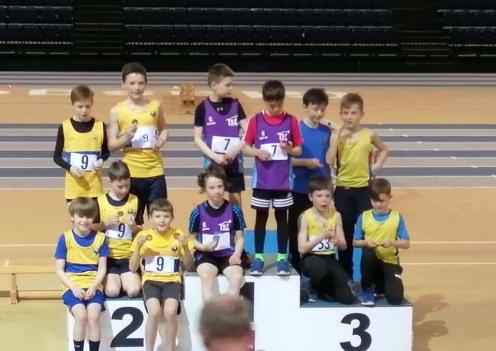 TEL U11 Boys' SAIL Gold winners
