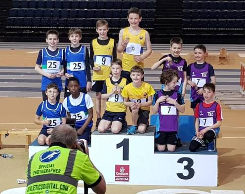 U11 Boys' SAIL Bronze relay winners