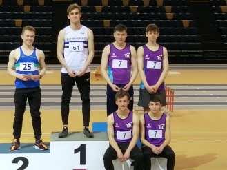 U20 Men's SAIL Bronze medal winners