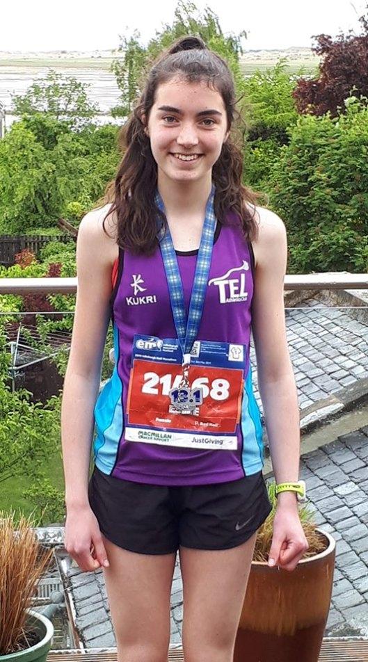 Esme Callander 1:2 marathon