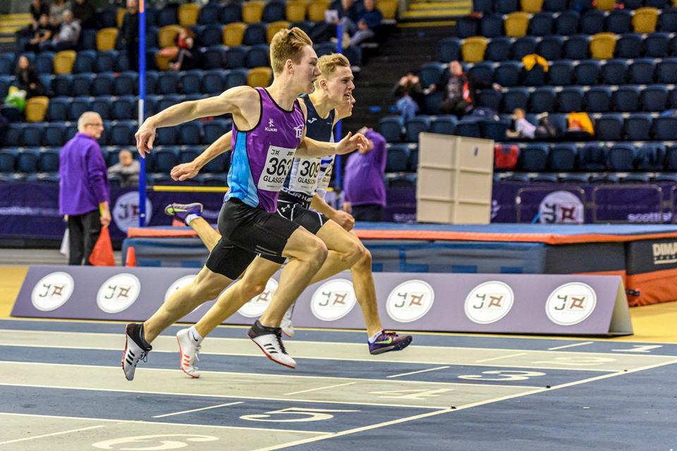 Adam Hoole running